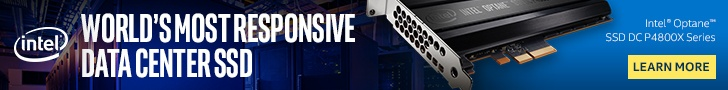 Intel Optane – the world's most responsive data center SSD