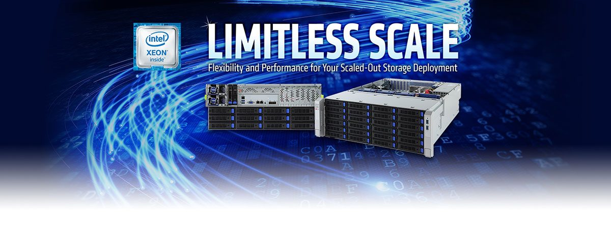 Intel Xeon Inside – Limitless scale