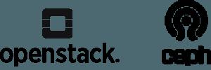 Config 1 logos – Openstack and CEPH